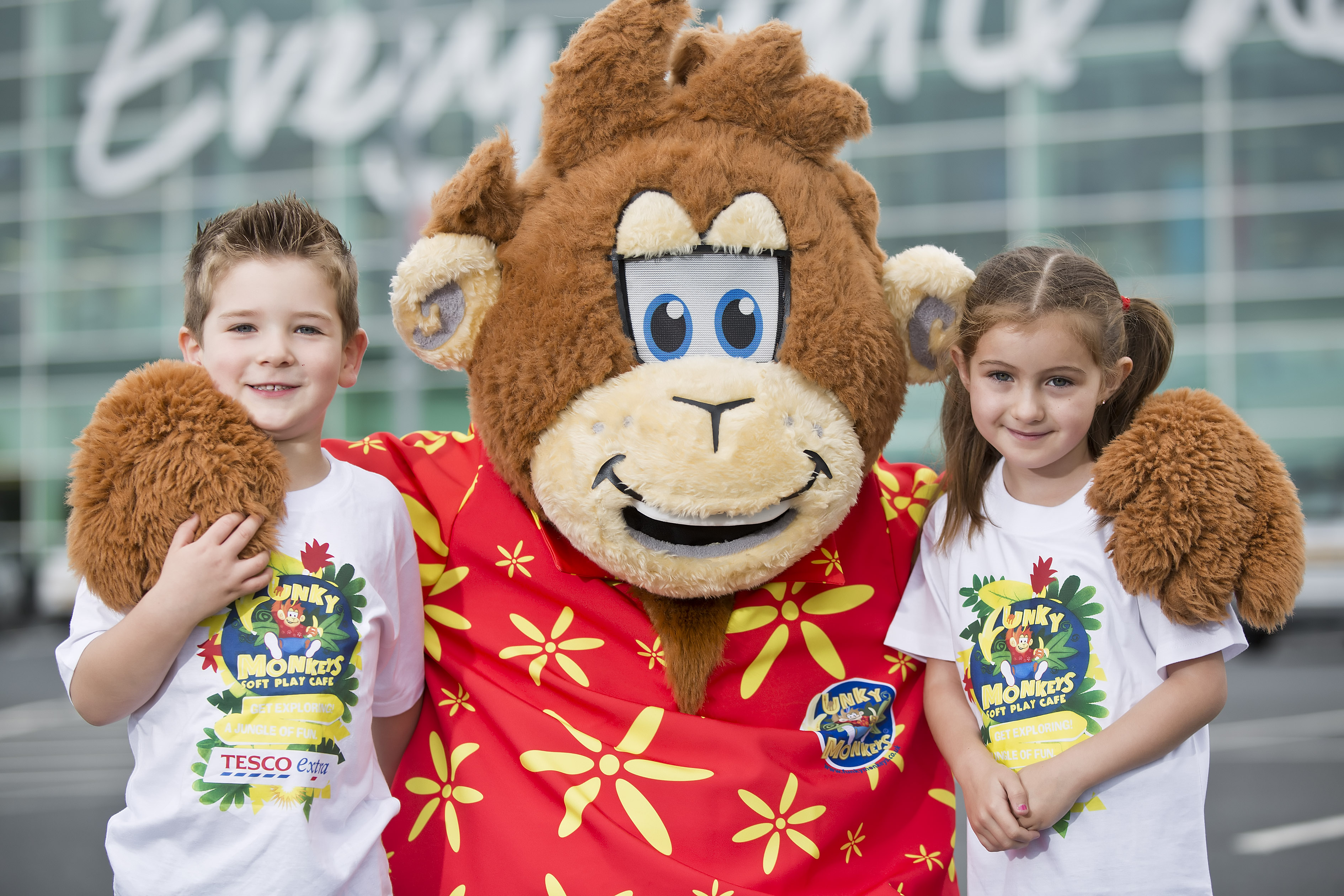 Funky Monkeys expands their jungle kingdom with Tesco!