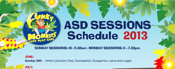 Funky Monkeys set to launch new ASD sessions